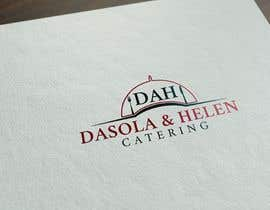 #46 untuk I need a catering Logo Designed, the name of the company is DAH - Dasola and Helen catering oleh NeriDesign