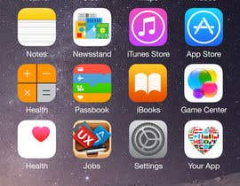 #5 for 2 AppStore icons with hearts and flags by vaishaknair
