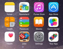 #10 for 2 AppStore icons with hearts and flags by vaishaknair