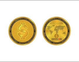 #32 for Design for a modern crypto coin the front and back in 3D. by engabousaleh