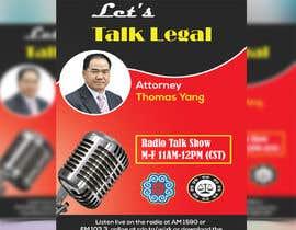 #54 for Radio talk show flyer by khannaeem