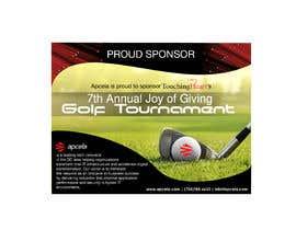 #32 for Design Sponsor Ad for Golf Tournament Brochure av dorotheaalig