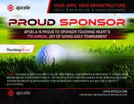 #38 for Design Sponsor Ad for Golf Tournament Brochure av pixelmanager