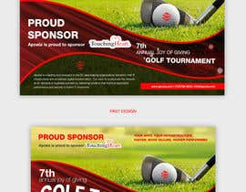 #35 for Design Sponsor Ad for Golf Tournament Brochure av grshojol