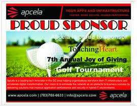 #45 for Design Sponsor Ad for Golf Tournament Brochure av reeyanshp