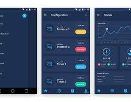 #18 for Android mobile app layout mockup by Bkmraj