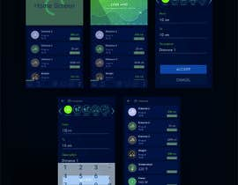 #6 for Android mobile app layout mockup by ahmed7najih