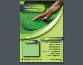 #42 for Design a lawn care flyer by prayasdesign