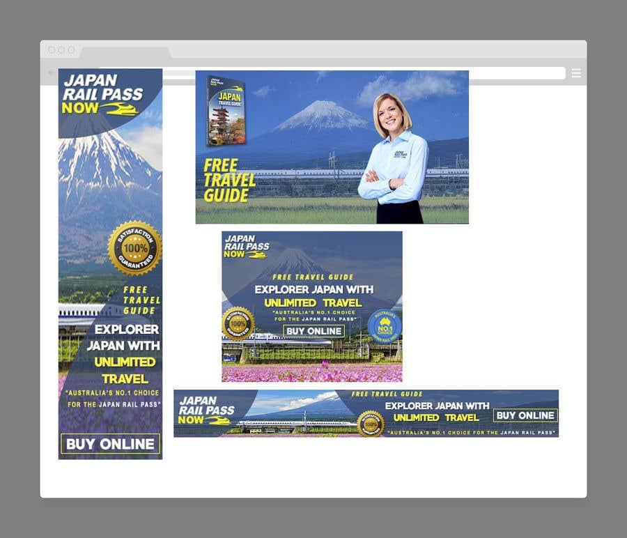 Konkurrenceindlæg #32 for 1 Homepage Banner + 3 Web Banners