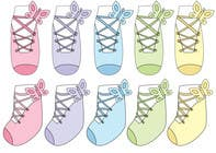 #33 for Baby Sock Design Contest - Creative, Cute and Original by Dilyana23