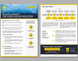 #39 for Design corporate brochure for a solar and energy company by AthurSinai