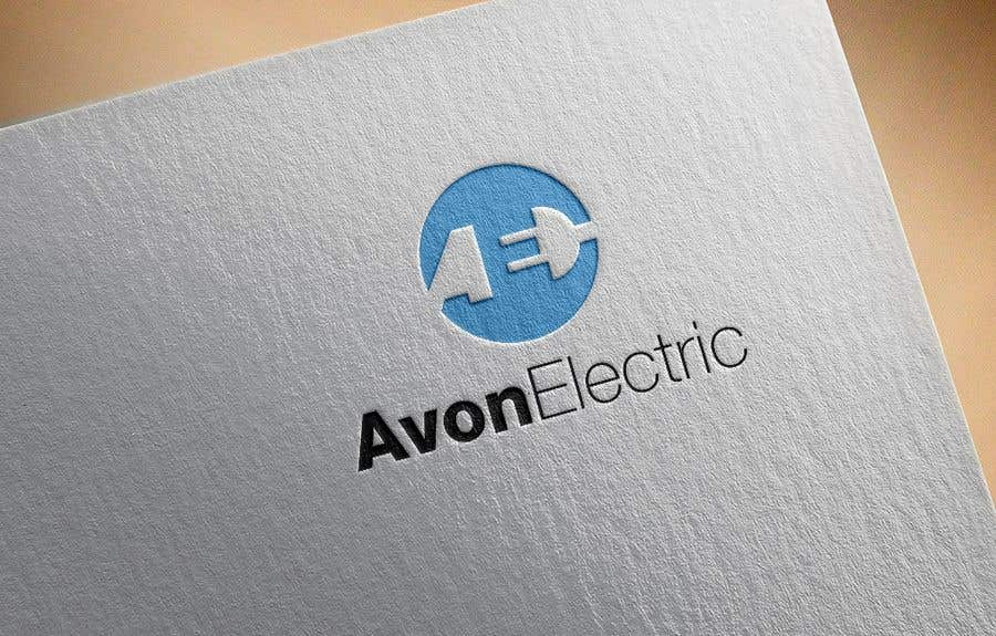 """Contest Entry #                                        10                                      for                                         Logo for my new electrical company in nova scotia canada.  """"Avon Electric"""". We live on the avon river where the eagles fly"""