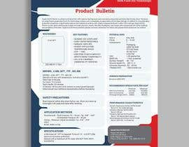 #25 for Design a Technical Data Sheet by princegraphics5