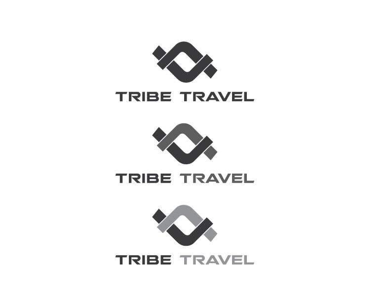 Contest Entry #                                        16                                      for                                         Tribe Travel Logo