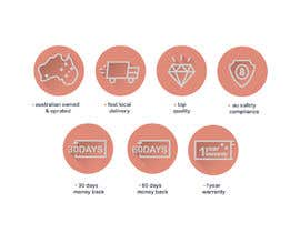 #28 for Design a set of 6 simple icons for my eCommerce by sagarjadeja
