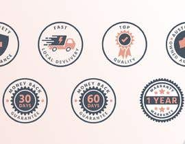 #31 for Design a set of 6 simple icons for my eCommerce by benchie22