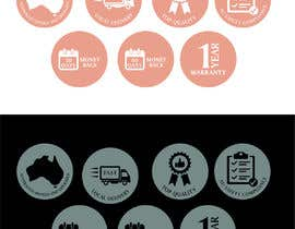 #16 for Design a set of 6 simple icons for my eCommerce by golammostakin