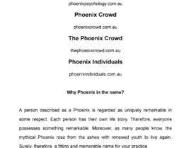 #92 for Come up with a great new business name for my psychology practice by philipaoldfield