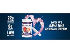 #2 for Nutrition Banner for a sports drink by Khaledibrahim95