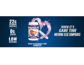 #3 for Nutrition Banner for a sports drink by Khaledibrahim95