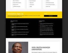 #38 for Redesign my Home Page Website by oromansa