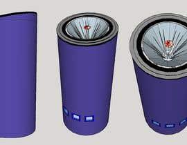 #7 for Sketch/illustrate/design a subwoofer cabinet by ThompsonDJ