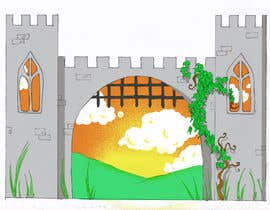 #16 for Illustrate castle-theme cabinet/bed in kids room by tilarinaldi