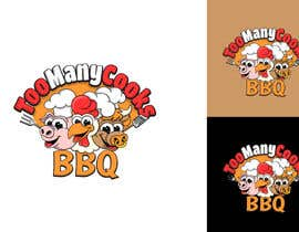 #128 for Design a funny bbq logo by Attebasile