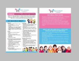 #1 for Design Brochure - Speech Therapist by maidang34