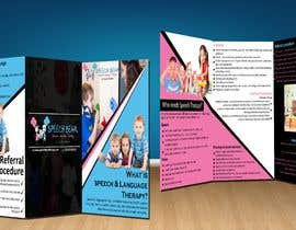 #9 for Design Brochure - Speech Therapist by adminenc
