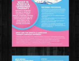 #3 for Design Brochure - Speech Therapist by murugeshdecign