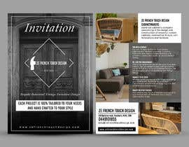 #11 cho Shop opening invitation for furniture shop bởi ephdesign13