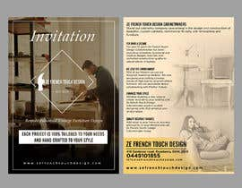 #18 cho Shop opening invitation for furniture shop bởi ephdesign13