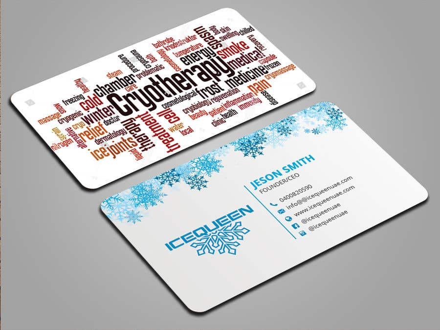 Entry #50 by mmhmonju for Design Wellness SPA Business Cards & Promo ...