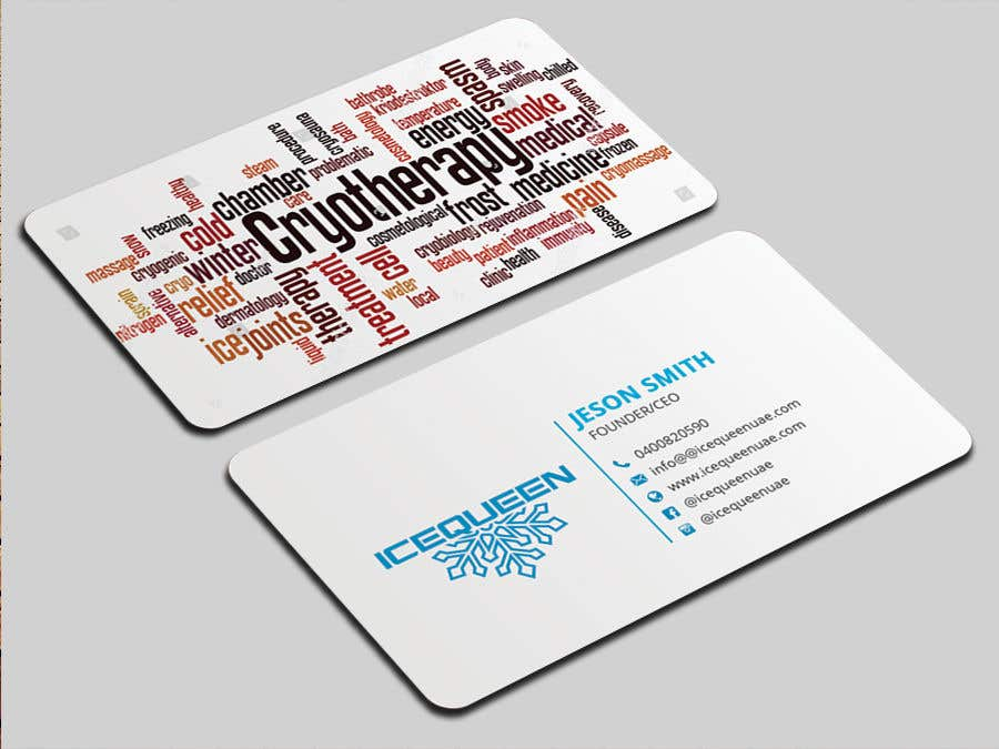 Entry #51 by mmhmonju for Design Wellness SPA Business Cards & Promo ...