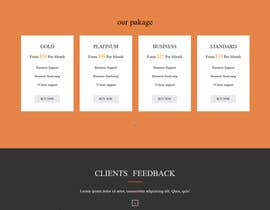 #12 for 12 Landing Pages sought by chamelikhatun544