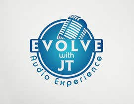 """#40 for Podcast LOGO design for """"The EVOLVE with JT Audio Experience"""" by logodesign24"""