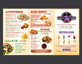 #4 for design a menu by Jharna3