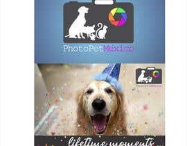 #121 for Diseño de logotipo y portada para página de facebook / servicio de fotografías de mascotas by angelmusicproduc
