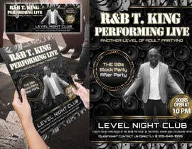 #17 for Event Flyer and matching Facebook Banner Needed for R&B/Hip Hop Artist/Singer by Attebasile