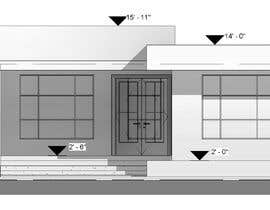 #13 for Modern Elevations for existing floor plan by elvyscuba84