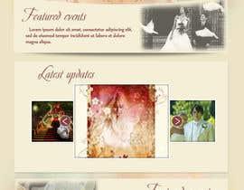 #26 para Design a Website Mockup for Event Planner Blog por Udovas