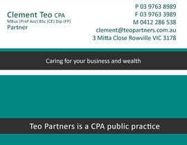 BhattShirish tarafından Design a Logo for Teo Partners Accounting Firm için no 241
