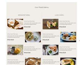 #34 for Build Me A Better Restaurant Website by minhajulfaruquee