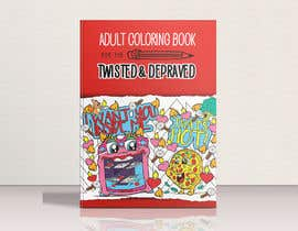 #8 cho Dirty Pun Coloring Book - Cover Contest bởi fb57e109df3f33a