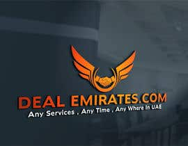 #71 for BEST 3D LOGO AND NAME FONT FOR MY COMPANY  DEAL EMIRATES.COM by mahinderpal1997