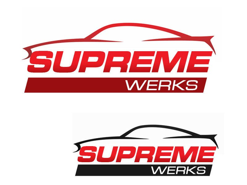 Inscrição nº 123 do Concurso para Logo Design for Supreme Werks (eCommerce Automotive Store)