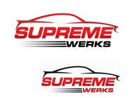 Graphic Design Contest Entry #132 for Logo Design for Supreme Werks (eCommerce Automotive Store)