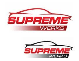 designerartist tarafından Logo Design for Supreme Werks (eCommerce Automotive Store) için no 134