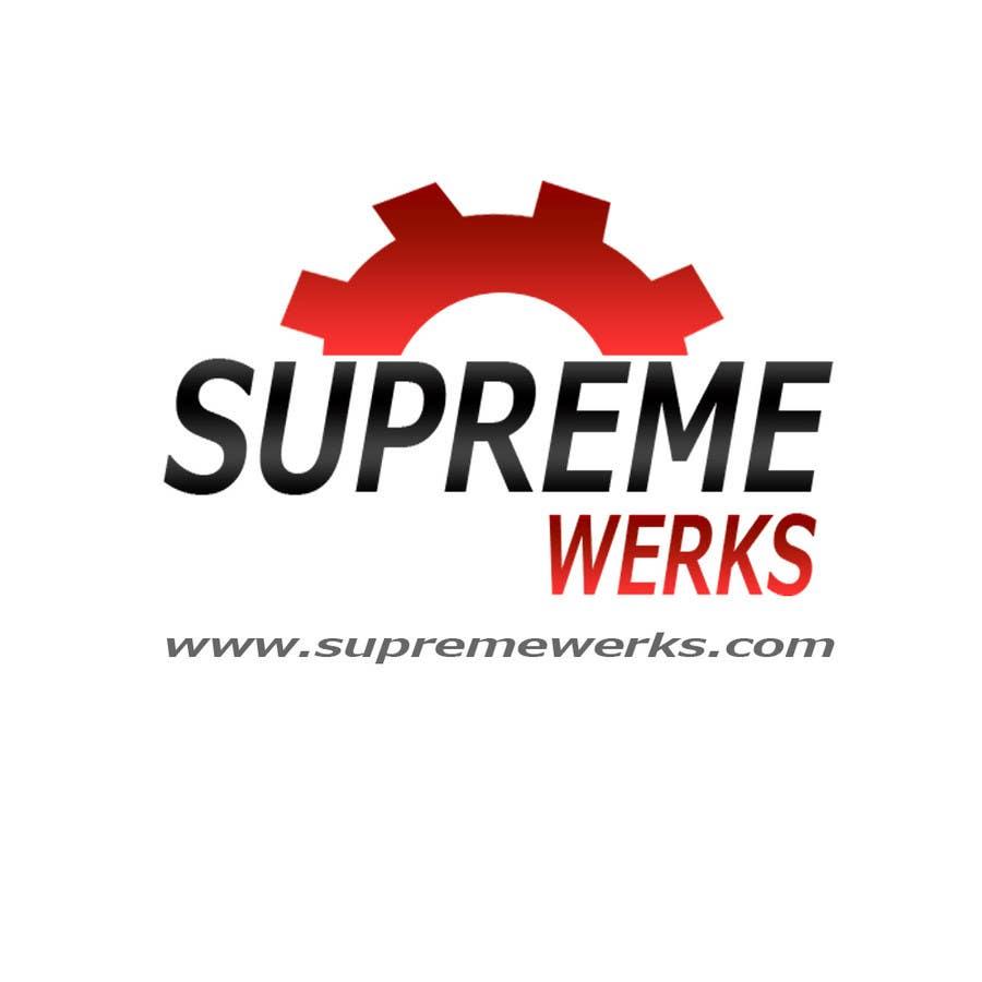 Конкурсная заявка №181 для Logo Design for Supreme Werks (eCommerce Automotive Store)